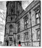 Windsor Castle Coldstream Guard Canvas Print