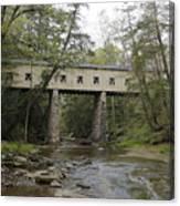 Windsor Mills Covered Bridge 3 Canvas Print