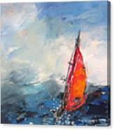 Windsurf Impression 04 Canvas Print