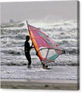 Windsurfer, Aransas Pass, Texas Canvas Print
