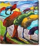 Windswept Morning Canvas Print