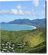 Windward Oahu Panorama IIi Canvas Print
