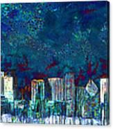 Windy Chicago Illinois Skyline Party Nights 20180516 Canvas Print