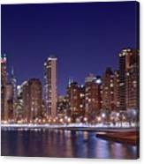 Windy City Lakefront Canvas Print