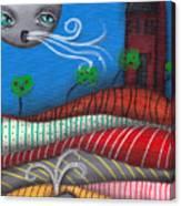Windy Evening Canvas Print
