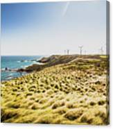 Windy Meadows Canvas Print