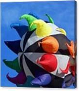Windy Toy Canvas Print