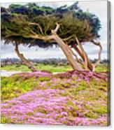 Windy Tree Canvas Print