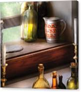 Wine - Care For A Nip Canvas Print