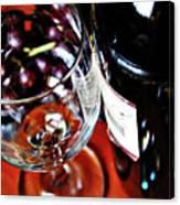 Wine And Dine 1 Canvas Print