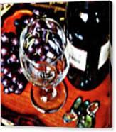 Wine And Dine Canvas Print
