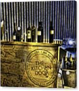 Wine Bazaar Canvas Print