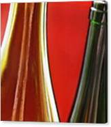 Wine Bottles 7 Canvas Print