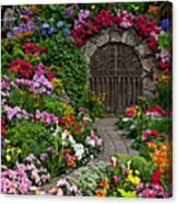 Wine Celler Gates  Canvas Print