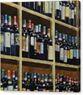 Wine Closet Canvas Print