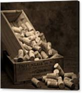 Wine Corks Still Life I Canvas Print