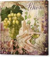 Wine Country Rhone Canvas Print