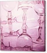 Wine Goddesses Canvas Print