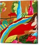 Wine Mirage Canvas Print