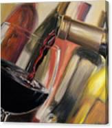 Wine Pour II Canvas Print