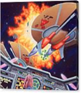 Wing Commander 1992 Canvas Print
