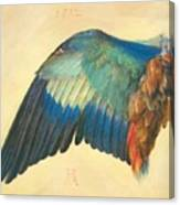 Wing Of A Blue Roller 1512 Canvas Print