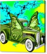 Wing Truck Canvas Print