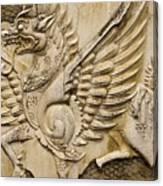 Winged Dragon Canvas Print