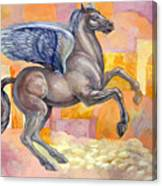 Winged Horse Canvas Print