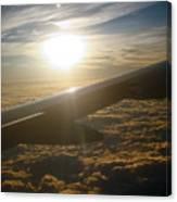 Winged Sun Canvas Print