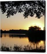 Wingfoot Sunset Canvas Print