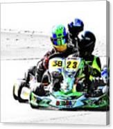 Wingham Go Karts 09 Canvas Print