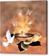 Wings Of Magic Canvas Print