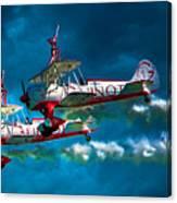 Wingwalkers Canvas Print