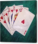 Wining Hand 2 Canvas Print