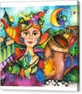 Winobranie Canvas Print