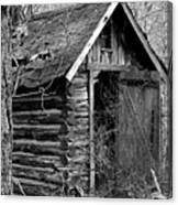 Winslowlogouthouse-11x17 Canvas Print