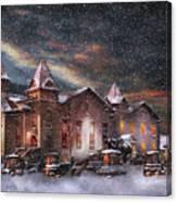 Winter - Clinton Nj - Silent Night  Canvas Print