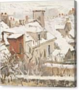 Winter, 1872  Canvas Print