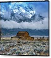 Winter Approaching Canvas Print