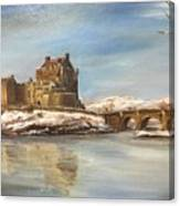Winter At Eilean Donan Canvas Print
