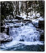Mill Creek Falls Wv Canvas Print