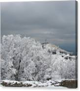 Winter At Shipka Canvas Print