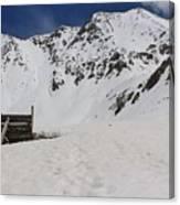 Winter At The Boston Mine 3 Canvas Print
