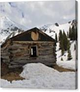Winter At The Boston Mine 4 Canvas Print