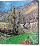 Winter At The Val De Falaise Canvas Print