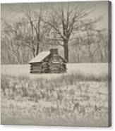 Winter At Valley Forge Canvas Print