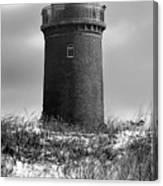 Winter Baltic Sea Lighthouse Canvas Print