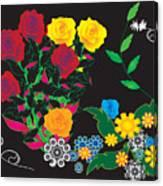 Winter Bouquet Canvas Print