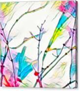 Winter Branch Colors Canvas Print